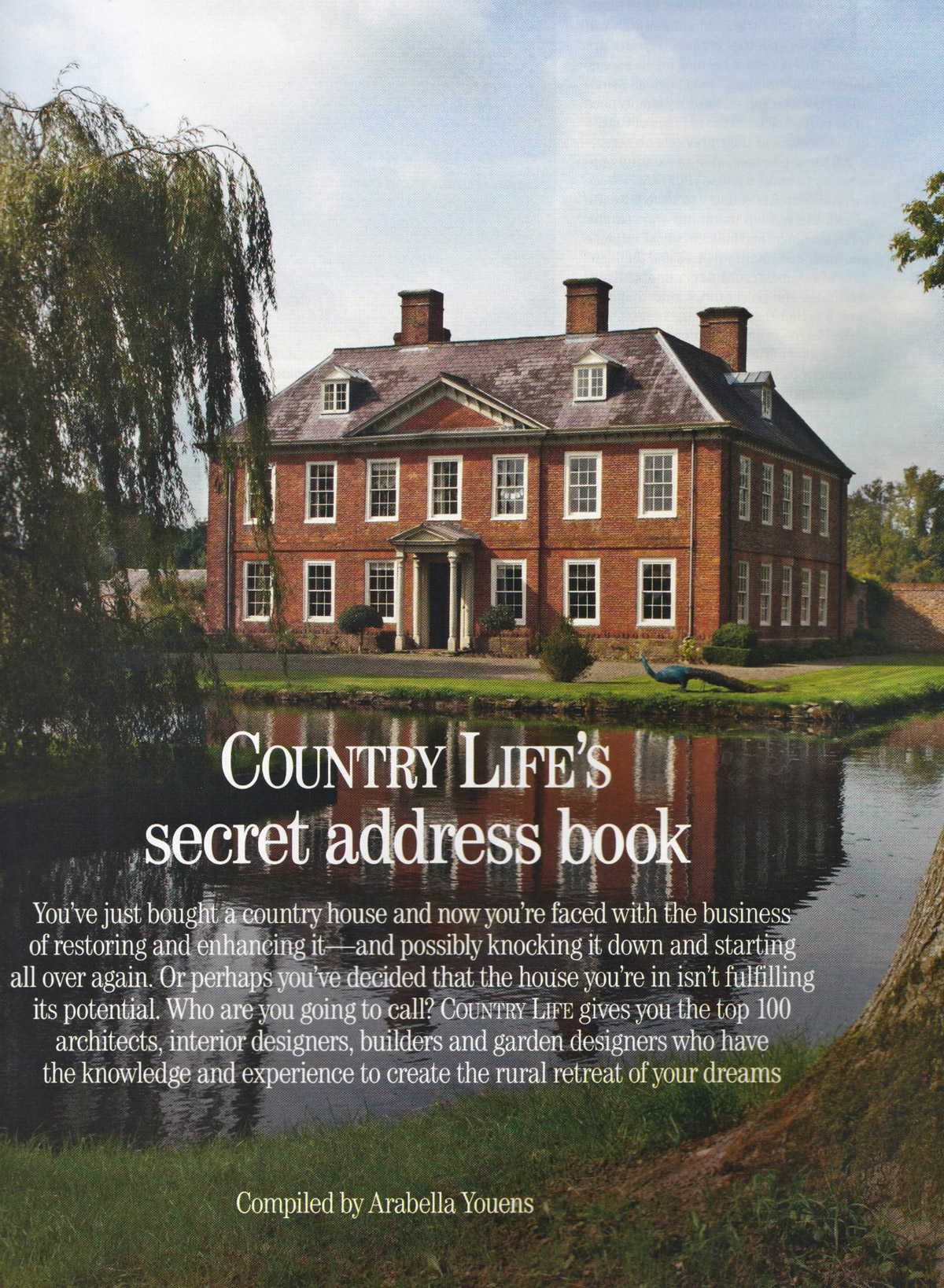 Lucy Elworthy Iterior Design Country Life 2