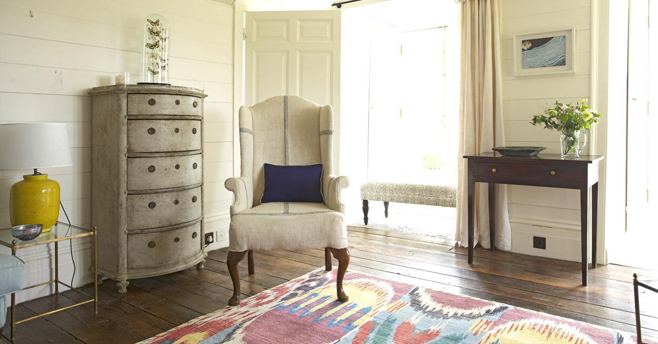 Devon Longhouse Sitting Room