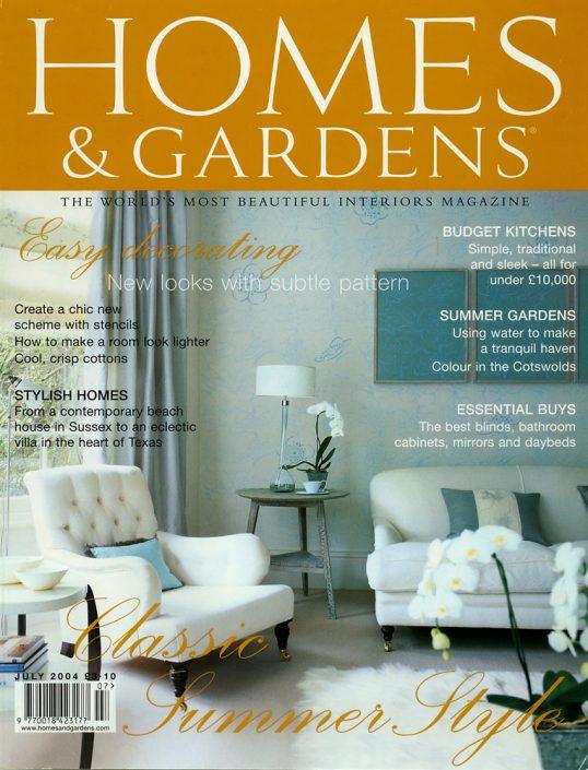 Homes & Gardens.